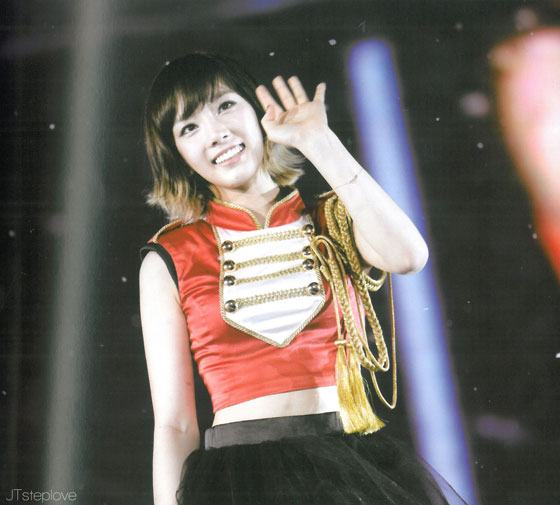 Taeyeon 2011 Girls Generation Tour photobook