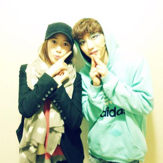 Yoona & Jo Kwon