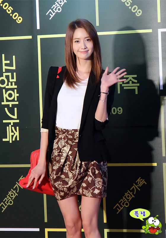 SNSD Yoona Boomerang Family movie premier