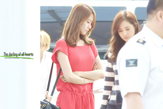 SNSD Yoona Incheon Airport 2012