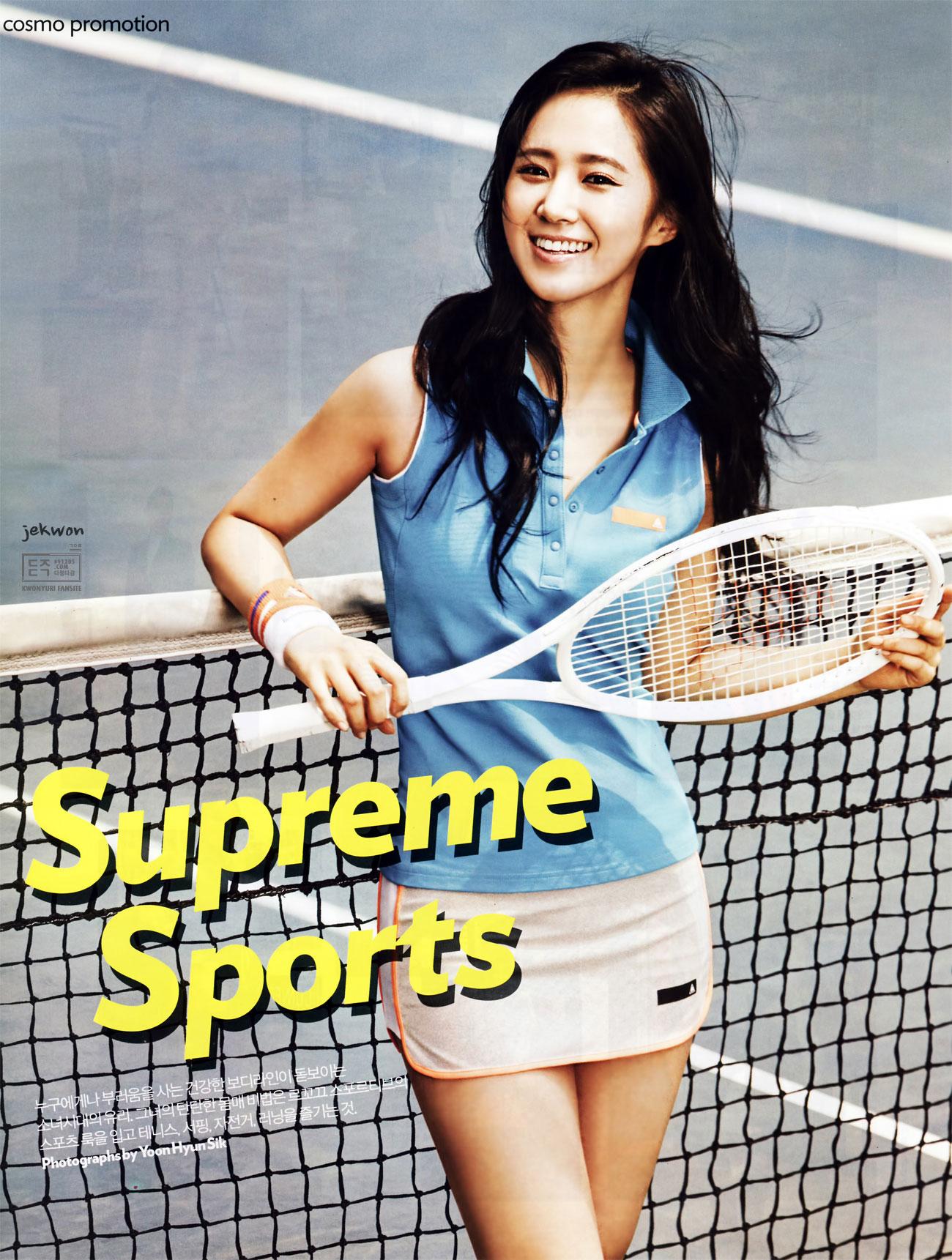 Sportswoman Yuri Cosmopolitan Magazine