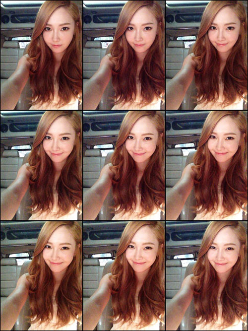Jessica thankful selca