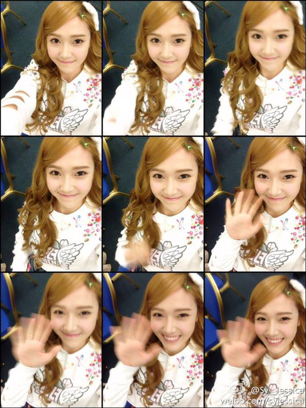 Jessica joins Weibo