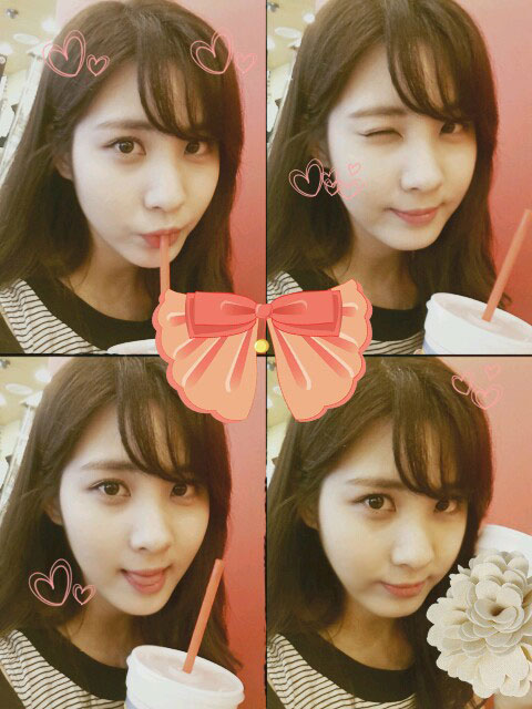 Girls Generation Seohyun birthday selca