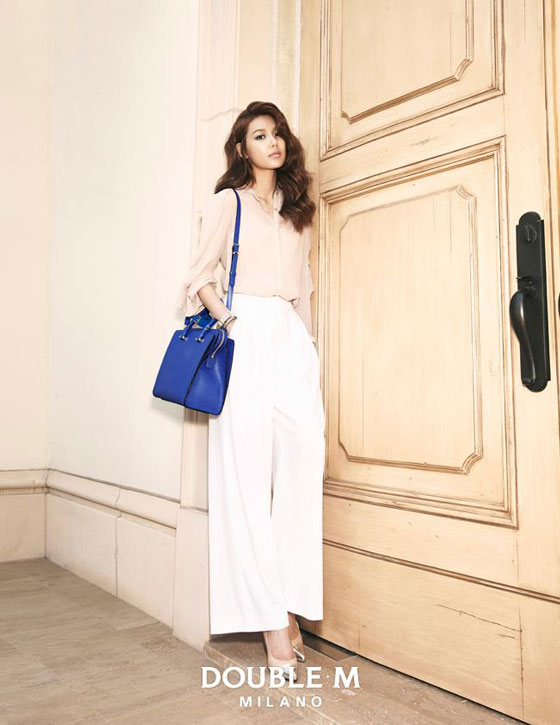 SNSD Sooyoung Doublem summer look book