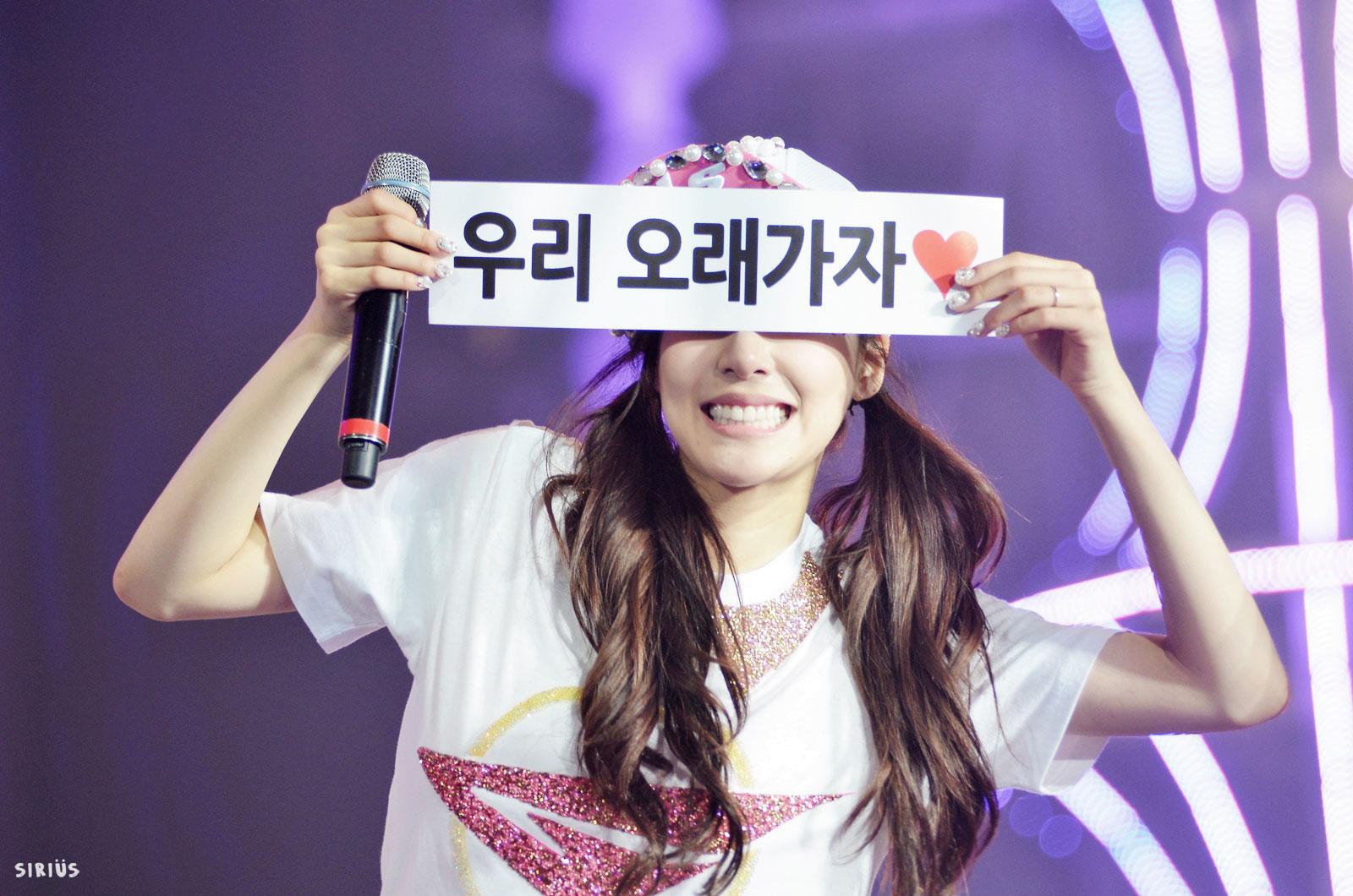 Tiffany @ World Tour 2013 Seoul