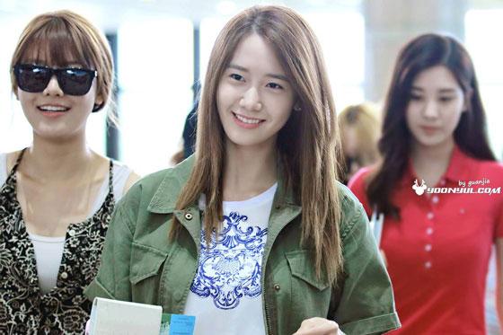 SNSD Yoona Gimpo Airport fashion