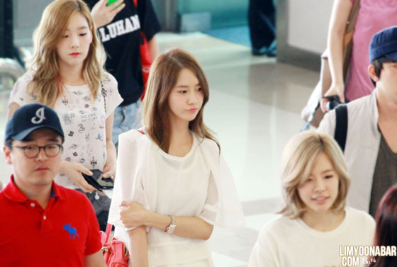 SNSD Yoona Gimpo Airport to China