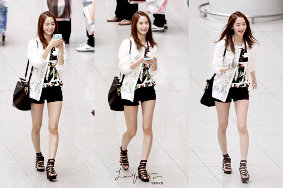 SNSD Yoona Incheon Airport fashion