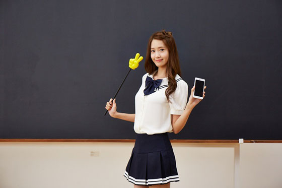 SNSD Yoona SK Telecom commercial