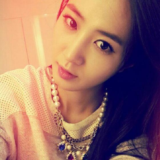 SNSD Yuri pretty Instagram selca