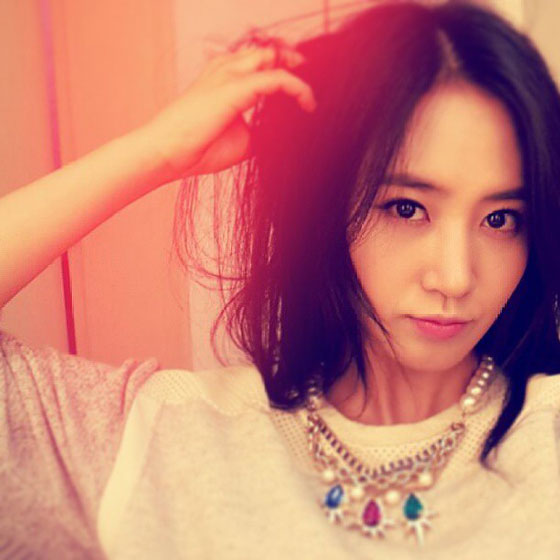 Girls Generation Yuri pretty selca