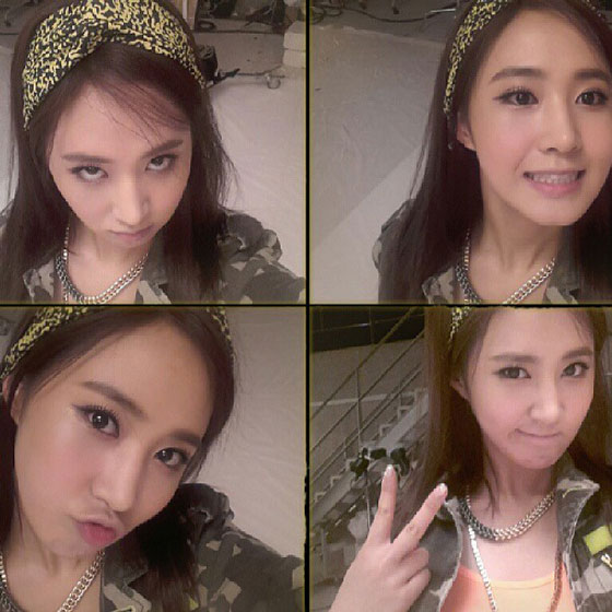 SNSD Yuri Instagram selca photo