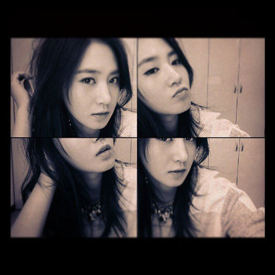 Girls Generation Yuri Instagram selca