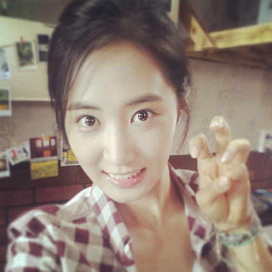 SNSD Yuri chicken feet Instagram