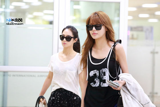 SNSD Sooyoung Gimpo Airport fashion