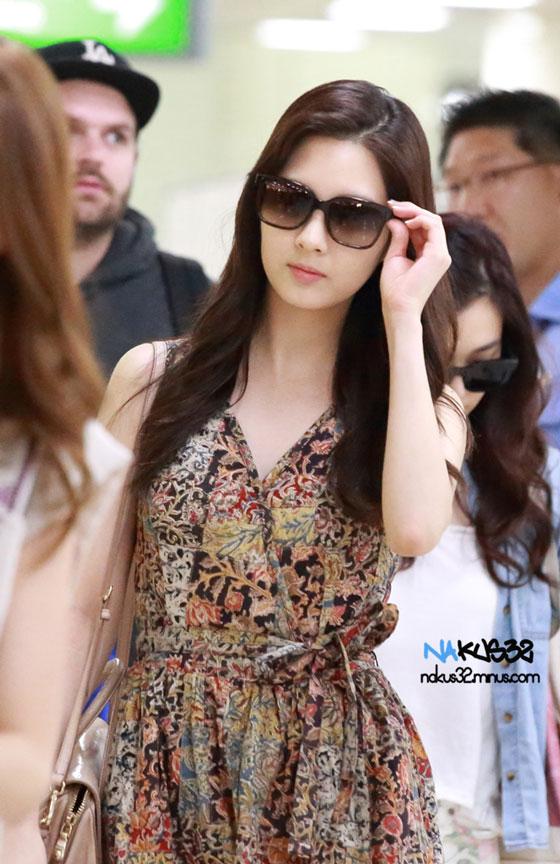 SNSD Seohyun Gimpo Airport fashion