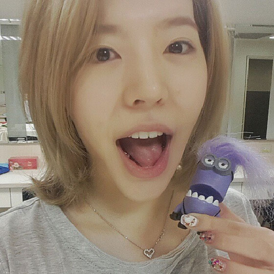 SNSD Sunny grab machine toy