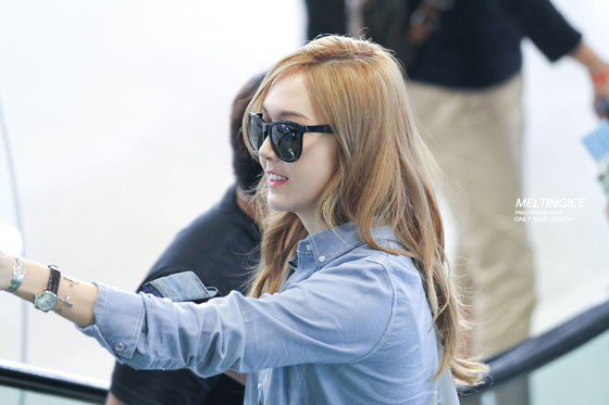 SNSD Jessica Gimpo Airport to China