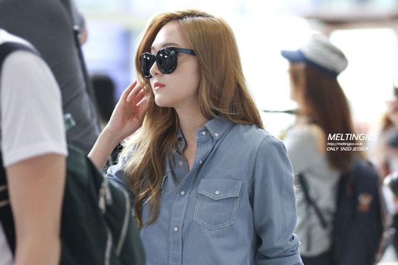 SNSD Jessica Gimpo Airport to China