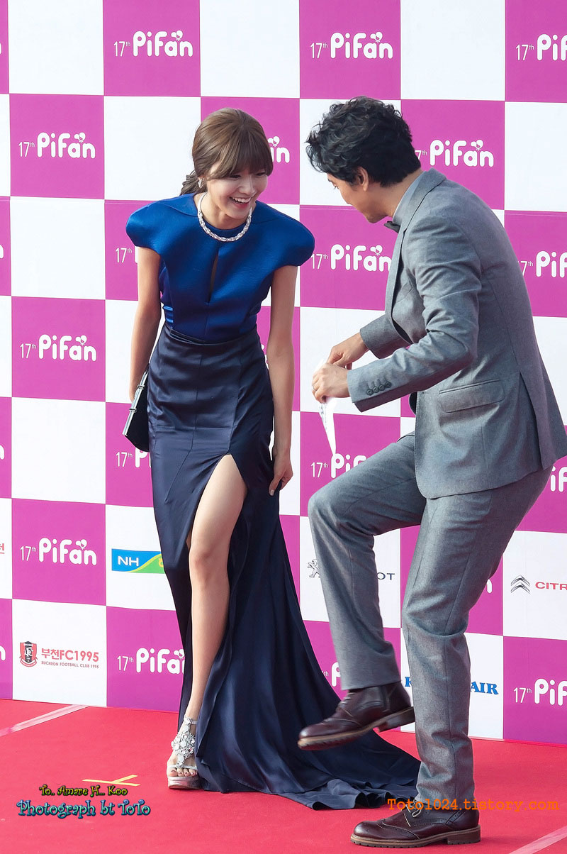 Sooyoung Puchon Film Festival red carpet