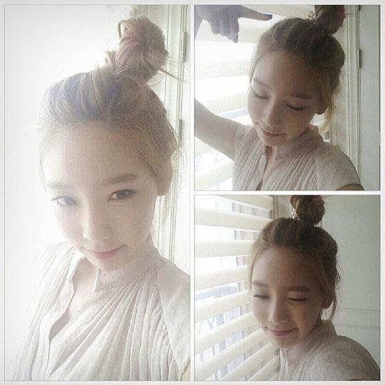 Girls Generation Taeyeon Instagram selca