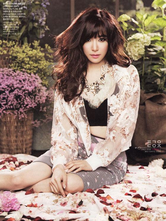 SNSD Tiffany Ceci Magazine 2013