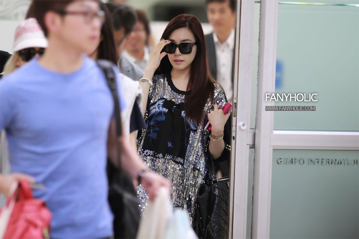 Tiffany Gimpo Airport 130717