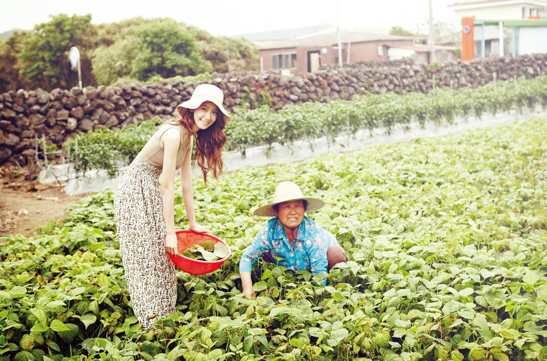 Yoona Innisfree Jeju Eco-Healing Travel