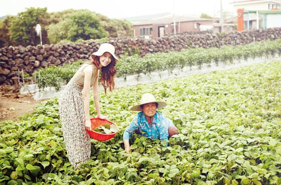 SNSD Yoona Innisfree Jeju travel HD