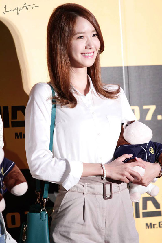 SNSD Yoona Mr Go premiere event