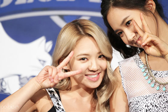 SNSD Hyoyeon Yuri Dancing 9 event