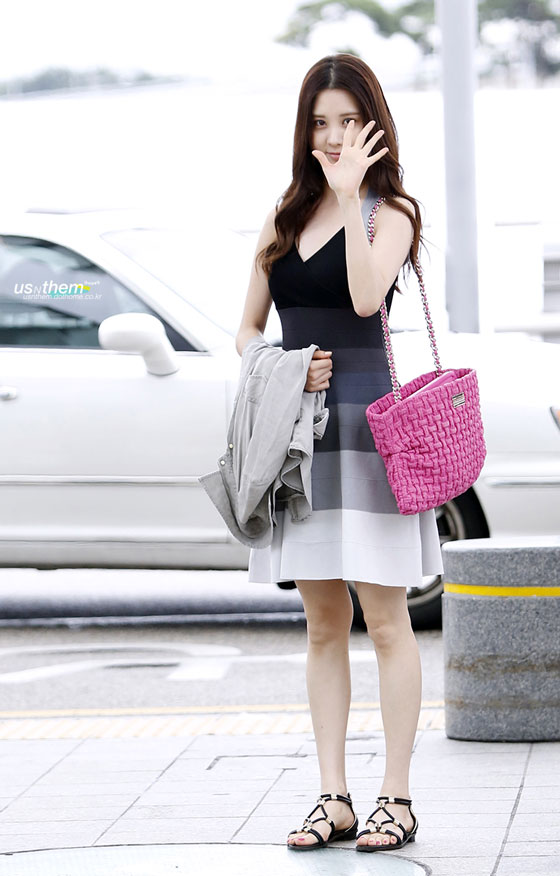 SNSD Seohyun Incheon Airport to Singapore