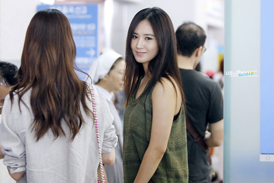 SNSD Yuri Incheon Airport to Singapore
