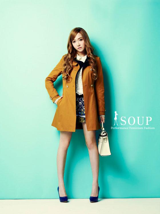 SNSD Jessica Korean fashion SOUP