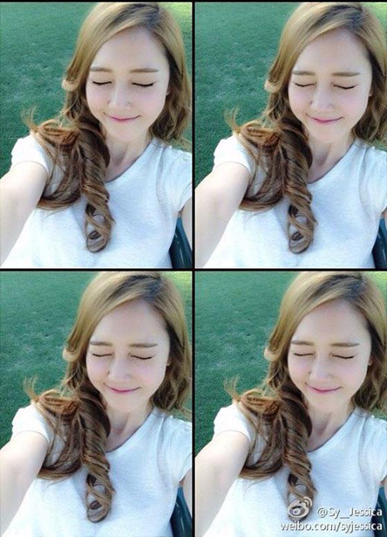 SNSD Jessica cute Weibo selca