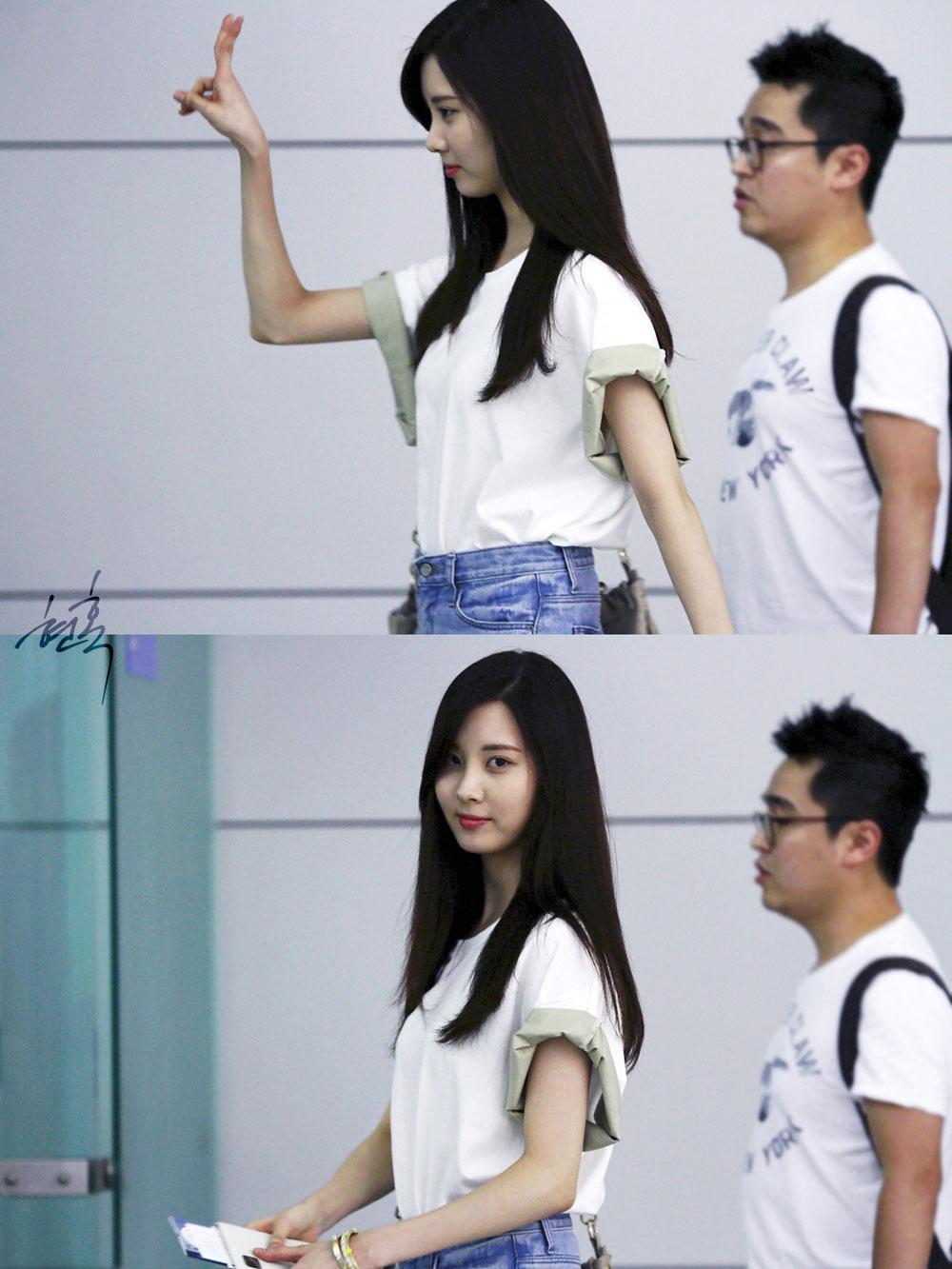 Seohyun Incheon Airport 130811