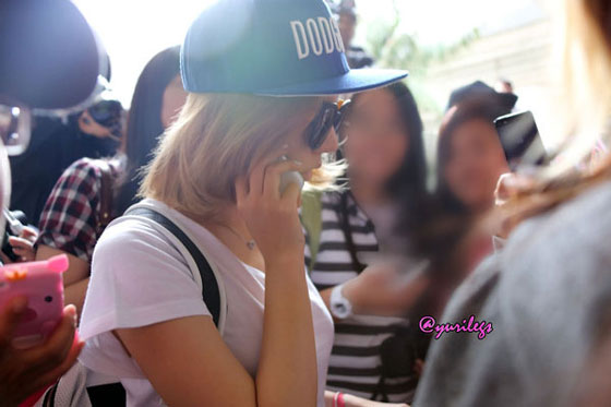 SNSD Sunny Los Angeles Airport