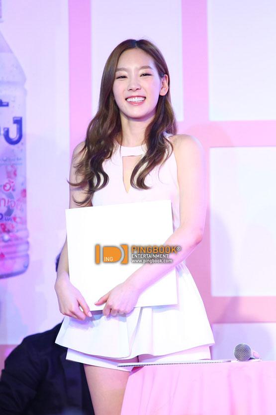 SNSD Taeyeon B-ing event in Thailand