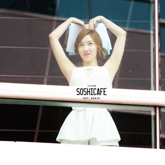SNSD Taeyeon Thailand heart