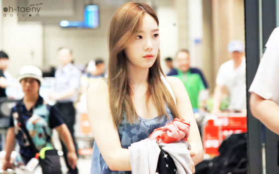 SNSD Taeyeon Incheon Airport from Vegas