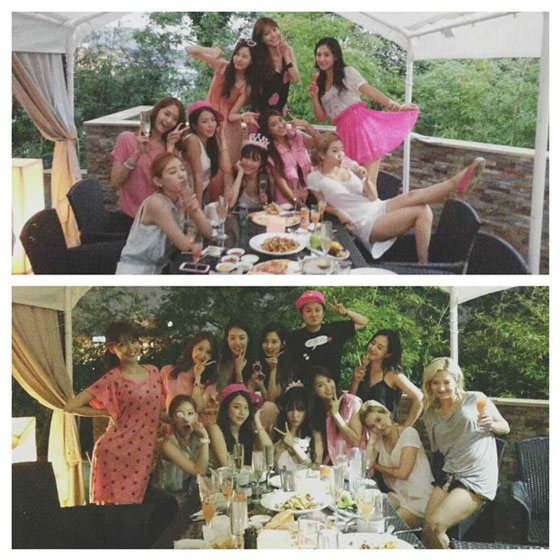 SNSD Tiffany 25th birthday party