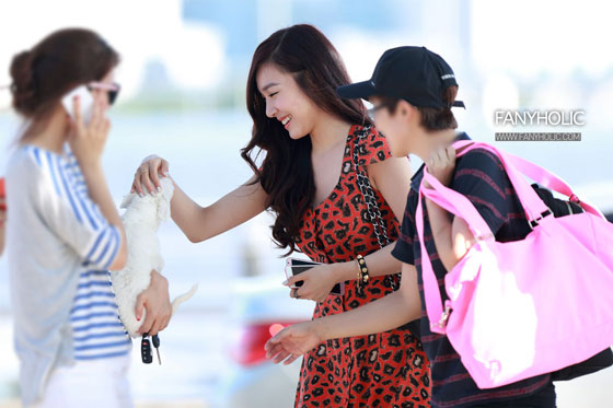 SNSD Tiffany travelling to Bali