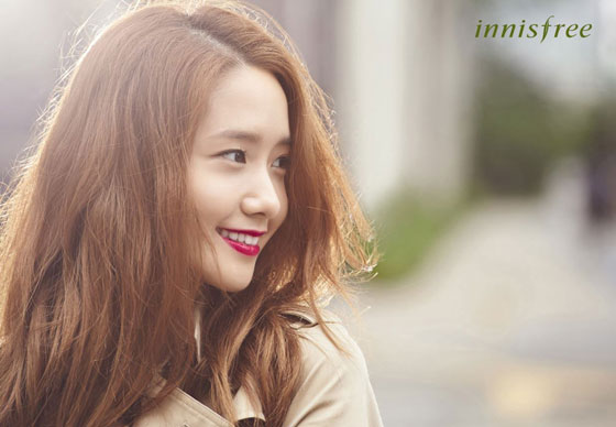 SNSD Yoona Innisfree color glow lipstick