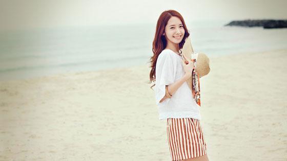 SNSD Yoona Innisfree Jeju wallpaper