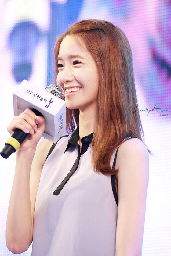 SNSD Yoona SKT LTE promotion event