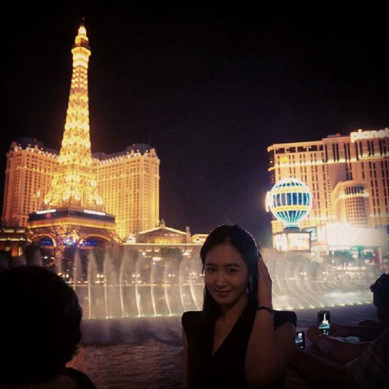 SNSD Yuri Las Vegas America