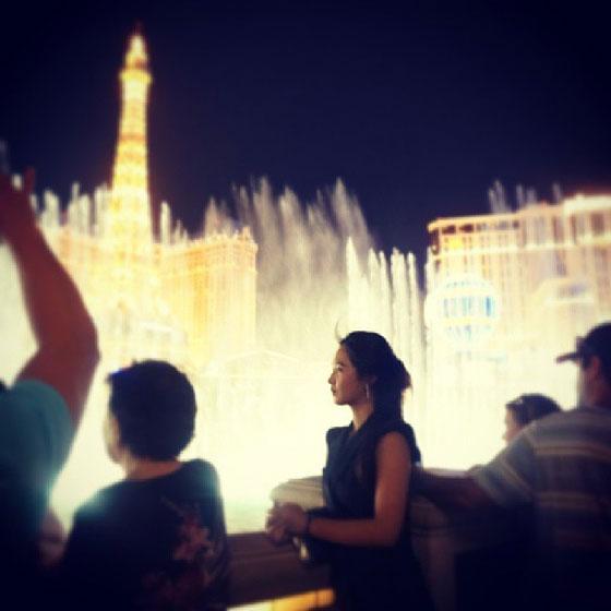 SNSD Yuri Las Vegas Paris Hotel