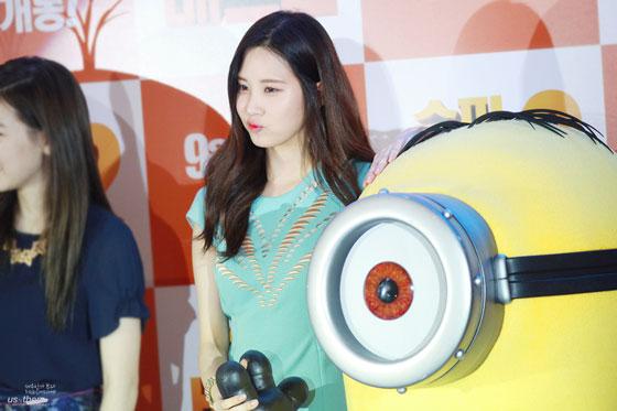 SNSD Seohyun Despicable Me 2