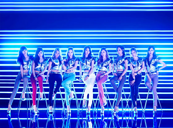 SNSD Galaxy Supernova Japanese album